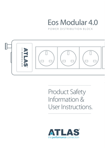 Product user guides information support atlas cables eos modular 40 publicscrutiny Choice Image