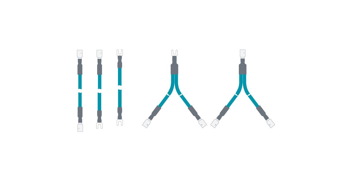 rca & spade adapters